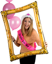 Giant Reusable Inflatable Selfie Picture Frame Photo Booth Party Prop 60 X 80cm