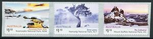 Australia Landscapes Stamps 2020 MNH Australian Alps Mountains Trees 3v S/A Coil