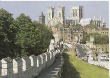 Yorkshire Postcard - York Minster from City Walls - Ref ZZ4973