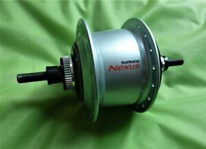 SHIMANO NEXUS SG-C6001-8D 36L Silber Nabe DISC Fahrradnabe INTER8 NEU
