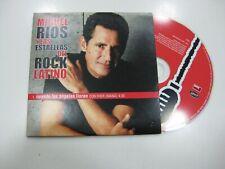 MIGUEL RIOS CD SINGLE SPANISH CUANDO LOS ANGELES LLORAN 2001 PROMO