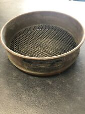 Vintage Us Standard Sieve Series No. 4 Opening In Inches .187 W.S. Tyler