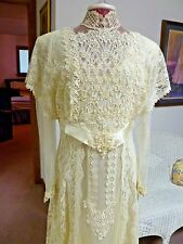 Susan Lane'S Country Elegance Vtg Wedding Dress 16 victorian Downton Abbey
