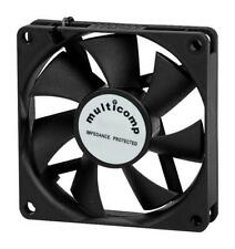 12V DC, Axial Fan, 80 x 80 x 25 mm, 60CFM - MC36334