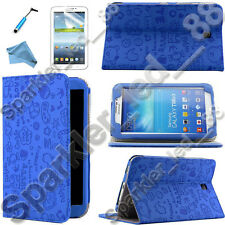 "For Samsung Galaxy Tab 3 7.0 Folio Case Cover w/ Stand 7"" P3200"