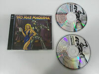 NO MAS MAQUINA MAX MIX - 2 X CD WEA 16 TRACKS GERMAN EDITION 1993