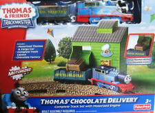 NEW Thomas & Friends Trackmasters Motorized Railway Thomas Chocolate Delivery