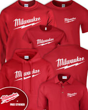 MILWAUKEE RED Tshirt Hoodie Sweater Jumper Polo Adults Mens Kids Ladies +STICKER