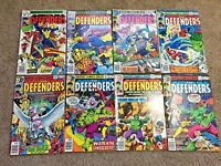 The Defenders Comic Book Lot Marvel # 62 63 64 65 66 67 68 69 Issues 62-69