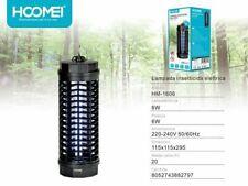 Zanzariera Elettrica Led Lampada 6W Antizanzare Lampada UV Hoomei Hm-1606