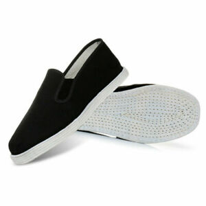 NEW Adults Martial Arts Karat Kung Fu Shoes Slippers Tai Chi Pumps Cotton Sole