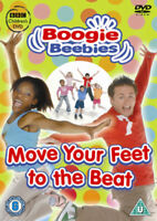 Boogie Beebies: Move Your Feet to the Beat DVD (2008) cert U ***NEW***