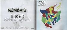 Wombats - Tokyo Vampires & Wolves - Rare Radio Promotional CD Single - 1223