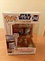 Funko Pop! Star Wars Heavy Infantry Mandalorian #348 Bobblehead New In Box
