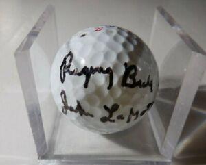 Jake LaMotta Raging Bull Autographed Signed Top Flite Aero Golf Ball