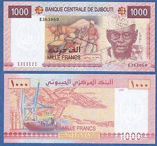 Djibouti 1000 Francs 2005 UNC P 42a Low Shipping! Combine FREE!  ( 42 )