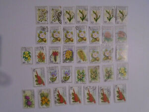 Trinidad and Tobago 1983 flowers to $5  collection 1