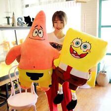 75cm Cartoon Spongebob SquarePants Plush Toy Patrick star Teddy Kids Doll Gift