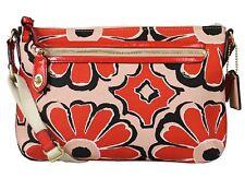NWT Coach Poppy Floral Scarf Print Swingpack Crossbody Bag 49769 Desert Sky