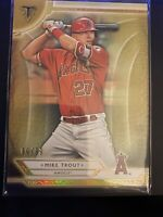 2018 Topps Triple Threads Gold /99 Mike Trout