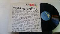 New Musik Warp Original 1982 Vinyl LP Record Synth-pop Electronic Rare uk epic!!