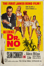 Dr. No  Movie Poster Style E 13x19