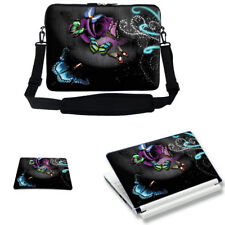 "15.6"" Laptop Computer Bag Case w Shoulder Strap & Matching Skin Mouse Pad 2705"