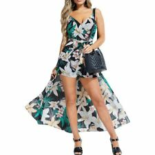 GUESS NEW Women's Floral Walk-through Wrap Romper TEDO