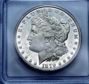 1879-P ICG MS60 DMPL KEY DATE Morgan Dollar SCARCE Silver Coin GRADED !