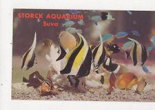 Storck Aquarium Suva Fiji Old Postcard 453a