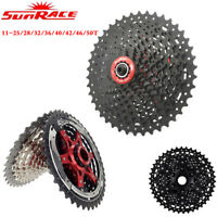 SunRace 8/9/10/11Speed Road/MTB Bike Cassette fit Shimano SRAM Cycling Freewheel