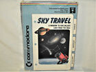 Commodore 64 Computer Game Sky Travel Space Educational Software Disk Box Book