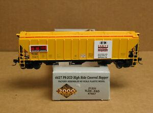 PROTO #21331; HO Early/Daniel 4427 PS-2CD High Side hopper #7667, new in package