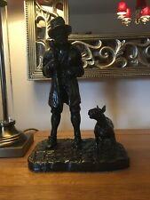 More details for bill sykes & bullseye - figurine / english bull terrier / oliver twist