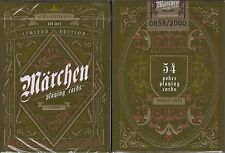 Marchen Schwarzwald Playing Cards Poker Size Deck LPCC Custom Limited Edition