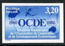 STAMP / TIMBRE FRANCE NEUF N° 2673 ** NON DENTELE / O.C.D.E. COTE 42 €
