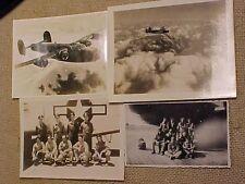 ORIGINAL WWII PHOTO - B-24 FROM 460TH BG IN FLIGHT W/ ITS CREW PHOTOS