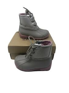 Sperry Topsider Duck Boots Toddler Girls 8