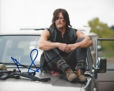 ACTOR NORMAN REEDUS SIGNED 'THE WALKING DEAD' 8x10 PHOTO 6 W/COA DARYL DIXON
