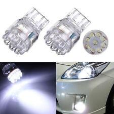 2pcs T20 7443 7440 9LED Turn Signal Brake Tail Lamp Light Bulb White For Car