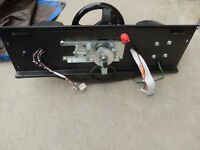 CART FURY STEERING ASSEMBLY MIDWAY  arcade game part w cf62