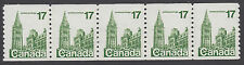 Canada - #806 17c Parliament Buildings Coil Strip Of Five - MNH
