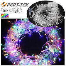 10M Waterproof 100LED Starry Fairy String RGB Light For Xmas Party Wedding US