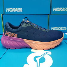 NEW Hoka One One Mach 2 1099722/MBVB Women's Running Shoes Navy Purple Orange