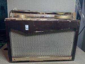 Sony Gendis TR-72 Vintage 7 Transistor Radio Portable Tokyo Japan (2-79)