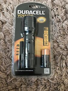 Duracell Voyager Easy-3 LED Flashlight BNIB