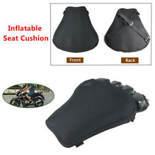 Heavy Duty Motorcycle Seat Cushion Mat Pressure Relief Inflatable Pad Universal