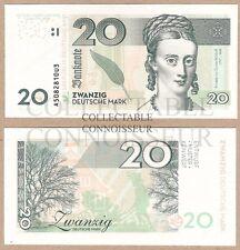 Germania 20 deutshce MARK 2014 UNC Specimen Test Note private emissione delle banconote