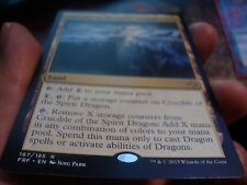 Crucible of the Spirit Dragon x1 Fate Reforged Played Free Shipping Canada!