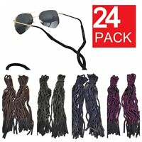 24 PCS Neck Strap Sport Sunglass Eyeglass Read Glasses Cord Lanyard Holder